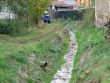 Oprava regulace potoka