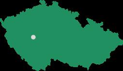 Mapa s náhledem polohy obce