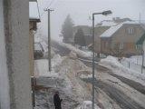 Obec pod sněhem