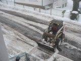 Obec pod sněhem2